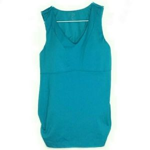 Athleta Size 36C Blue Active Tank Top